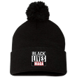 Load image into Gallery viewer, CustomCat Winter Hats Black / One Size Black Lives MAGA SP15 Pom Pom Knit Cap (12 Variants)