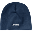 Load image into Gallery viewer, CustomCat Winter Hats Navy / One Size JESUS CP91 100% Acrylic Beanie (5 Variants)