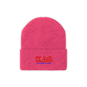 Printify Winter Hats Neon Pink / One size KAG Knit Beanie (10 Variants)