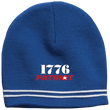 Load image into Gallery viewer, CustomCat Winter Hats True Royal/White / One Size 1776 Patriot Star Beanie (3 Variants)