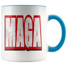 Load image into Gallery viewer, 11 oz. MAGA Ceramic Accent Coffee Mug (7 Variants) - American Patriots Apparel