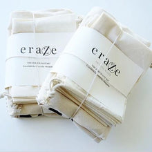 Eraze Zero Waste Kit - Canvas and Muslin Bags