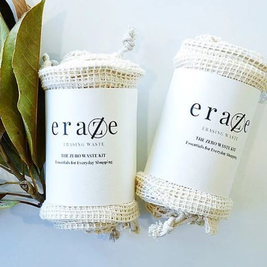 Eraze Zero Waste Kit -String and Mesh Bags