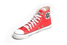 Etiko Sneakers Hitops Red Organic Fairtrade