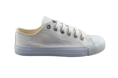 Etiko Sneakers Lowcuts All White - Limited Edition Organic Fairtrade