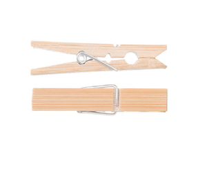 Go Bamboo - Kitchen Pegs 5PK