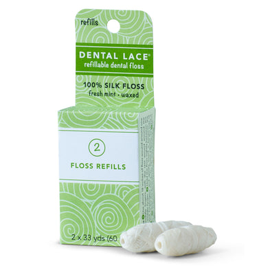 Dental Lace Eco Plastic free silk dental floss