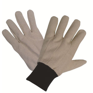 calico 100% cotton eco gardening gloves