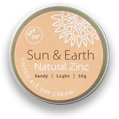 zero waste store sun and earth natural zinc sunscreen