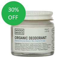 Noosa Basics Organic Deodorant Cream Sensitive Skin/Bi-Carb Free