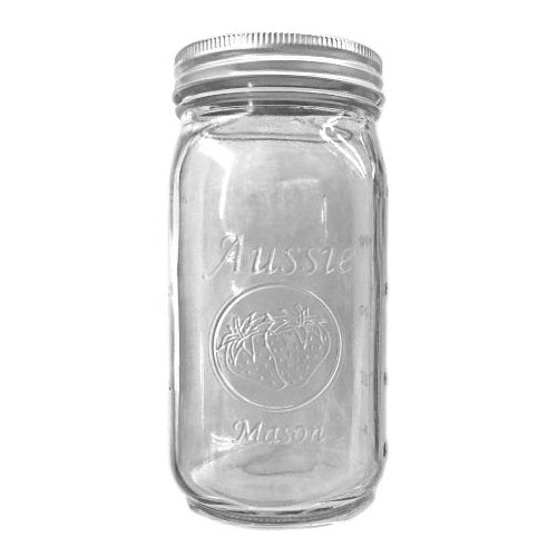 Zero Waste Store Aussie Mason 1000mL Preserving Jar