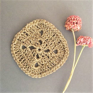 Amy Jade Creations Hemp Kitchen Scrubber - Hand Made