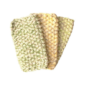 Amy Jade Creations Cotton Kitchen Scrubber 3 Pack - Choose Set Colours