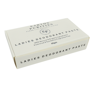 Earths Purities Ladies Deodorant Paste 60g