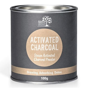 Zero Waste Store Australia Eden Health Food Activated Charcoal 100g