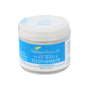 Zero Waste Store Australia Nelsons Naturals Spearmint Tooth Paste 60g