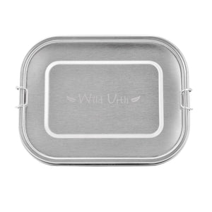 Wild Urth Stainless Steel Rectangle Lunch Box - 1400ml