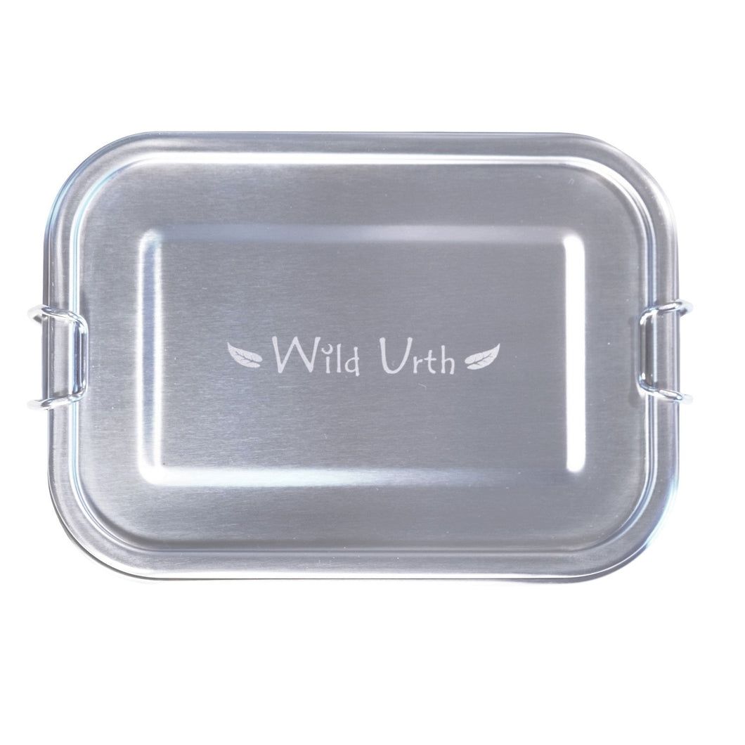 Zero Waste Store Australia Wild Urth Stainless Steel Rectangle Lunch Box 800ml