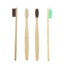 Zero Waste Store Bamboo Toothbrush Colours