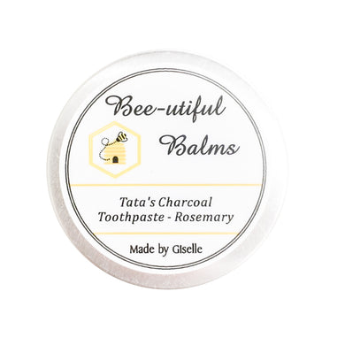 Zero Waste Store Bee-utiful Balms Tatas Charcoal Toothpaste