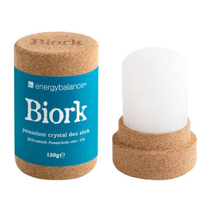 Biork Potassium Crystal Natural Deodorant Stick