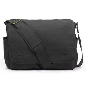Cotton Canvas laptop Bag Zero Waste