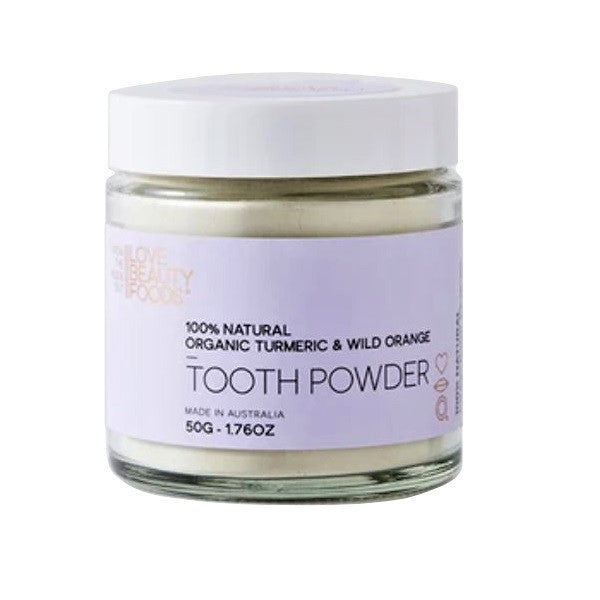 Love Beauty Foods Tooth Powder (Toothpaste) - Choose Variety