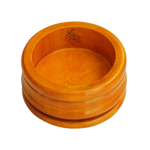 Genuine Honey Mango Wood Shaving Bowl