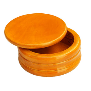 Zero Waste Store Natural Shaving Dish Mango Wood