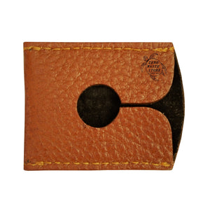 Parker Brown Leather Razor Cover