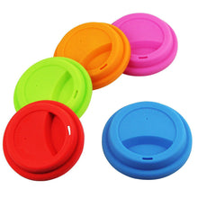 Zero Waste Store Silicone Travel Coffee Cup Lid Colours
