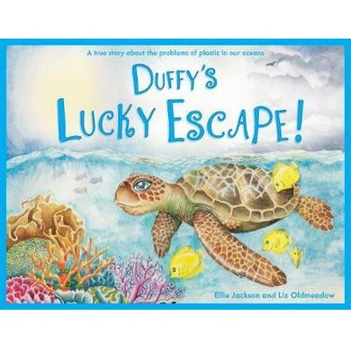 Zero Waste Store Wild Tribe Childrens Book Ellie Jackson Duffy's Lucky Escape