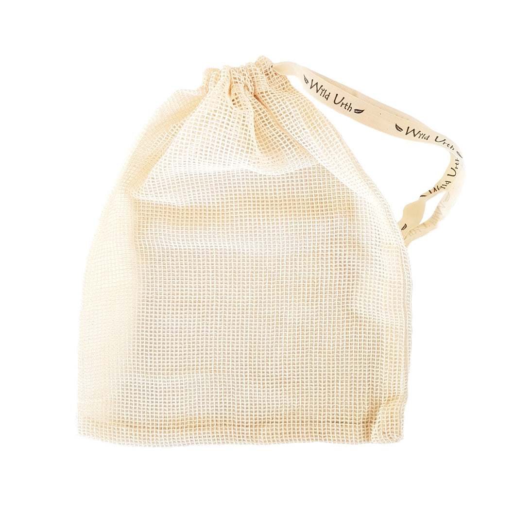 Zero Waste Store Wild Urth Organic Cotton Mesh Produce Bag