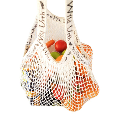 Zero Waste Store Wild Urth Organic Cotton String Shopping Bag 2