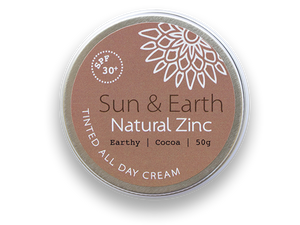 Sun and Earth Natural Zinc Sunscreen