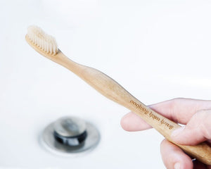 Brush With Bamboo Toothbrush - Adult Medium