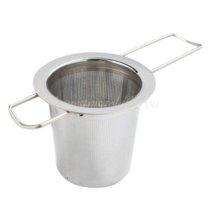 re-usable plastic-free tea infuser strainer