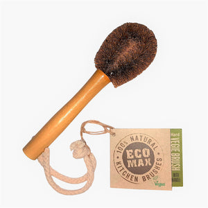 zero Waste store Australia Eco Max Small Coconut Vegetable Cleaning Brush