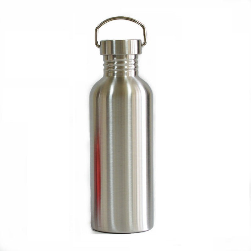 zero waste store plastic free drink bottle stainless steel