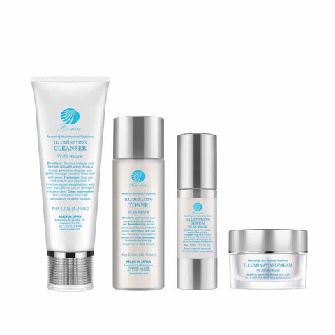 Natural Skin Brightening Illuminating Set