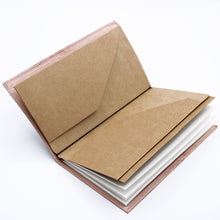 Load image into Gallery viewer, Handmade Leather Journal - My Bucket List Book - Brown (80 pages)-Stationary-SmartMugCo