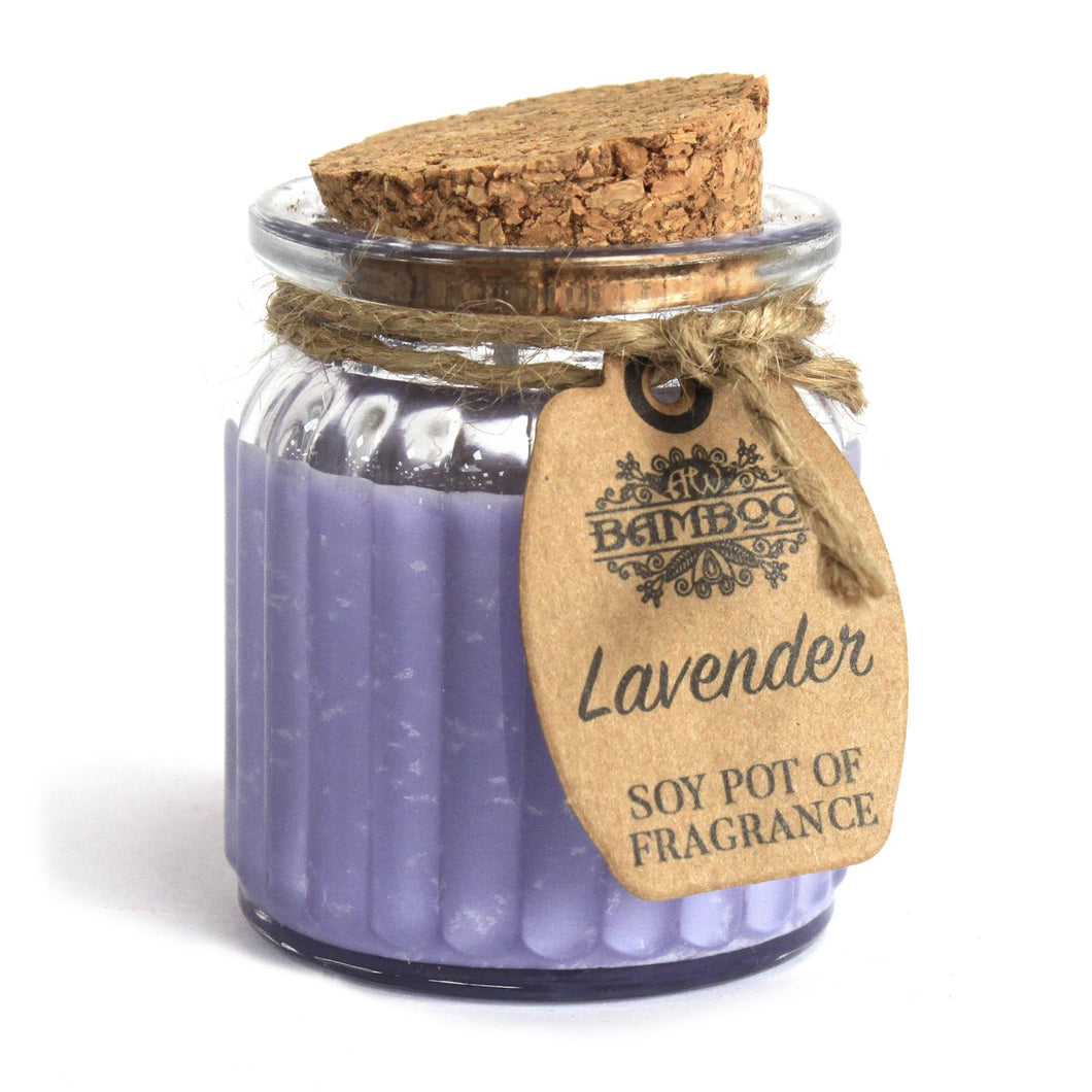 Lavender Soy Pot of Fragrance Candles-Home-SmartMugCo