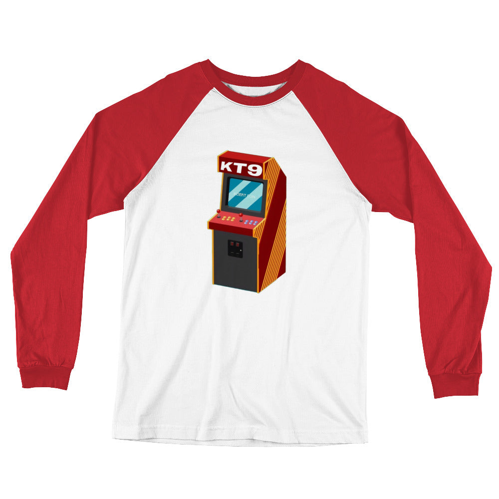 Arcade KT9 | Long Sleeve Baseball T-Shirt