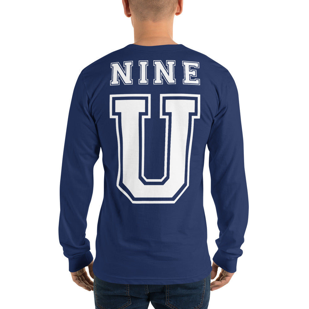 NINE U | Long sleeve t-shirt (unisex)