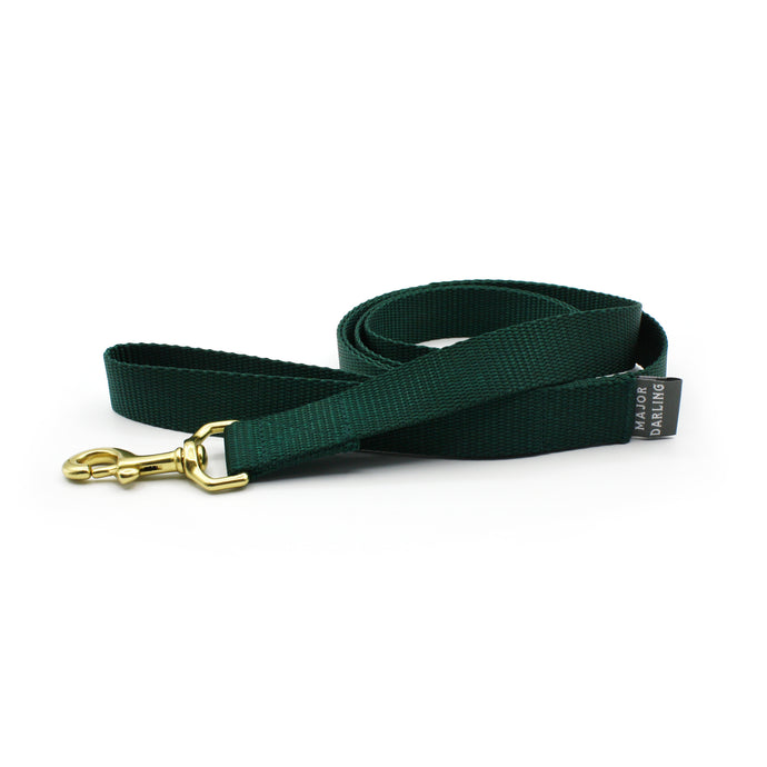 basic leash / evergreen