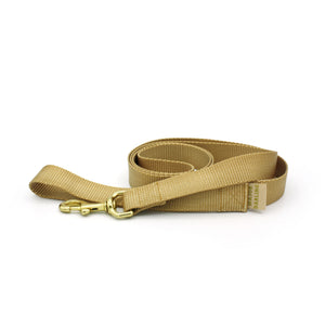 basic leash / gold
