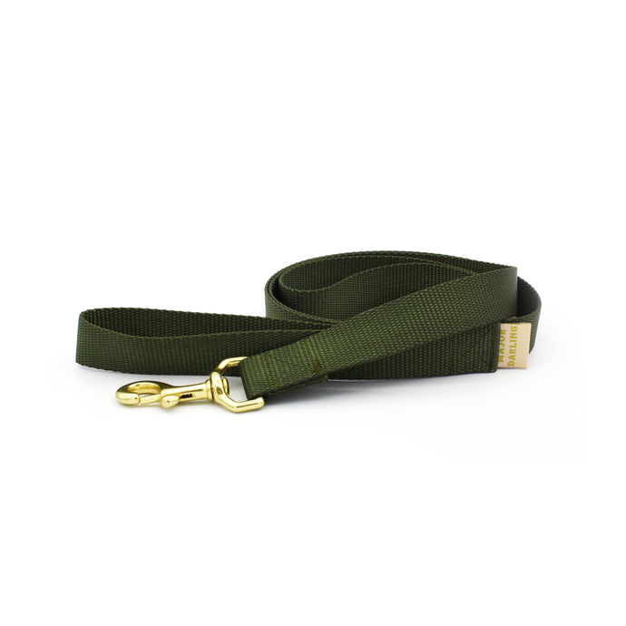 basic leash / olive