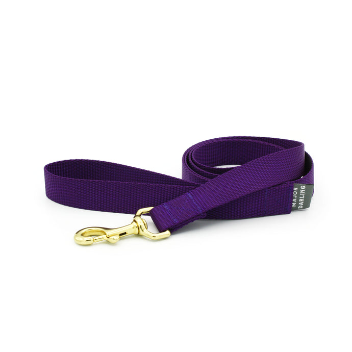 basic leash / violet