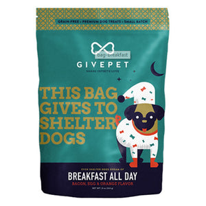 GivePet Dog Treats / Breakfast All Day