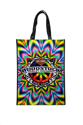 Woodstock Harley Reusable Custom Tote Bag